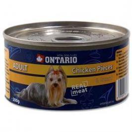 Ontario Adult kuřecí kousky a žaludky 200g