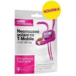 T-Mobile SIM s kreditem T-mobile Twist V síti 200 Kč kredit (719100)