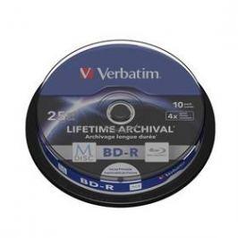 Verbatim Printable BD-R M-Disc 25GB, 4x, 10-cake (43825)
