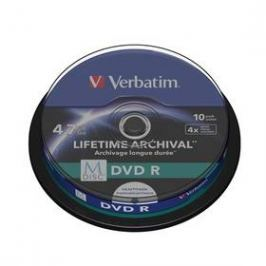 Verbatim DVD-R M-Disc 4,7GB, 4x, printable, 10cake (43824)