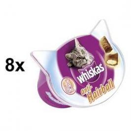 Whiskas Anti-hairball 8 x 60g