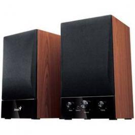 Genius SP-HF 1250B 2.0, Verze II. (31730011400) černé/imitace dřeva