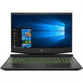 HP Pavilion Gaming 15-dk0034nc (8RR98EA#BCM) černý/zelený