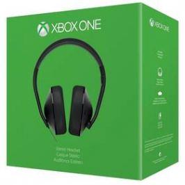 Headset Microsoft Xbox One Stereo Headset - černý (S4V-00006)