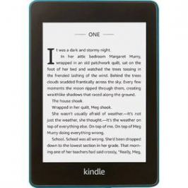 Amazon Kindle Paperwhite 4 2018 s reklamou (EBKAM1151 ) modrá