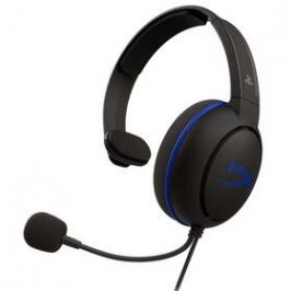 HyperX Cloud Chat - PS4 (HX-HSCCHS-BK/EM) černý/modrý
