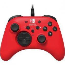 HORI Wired Controller HORIPAD pro Nintendo Switch (NSW-156U) červený
