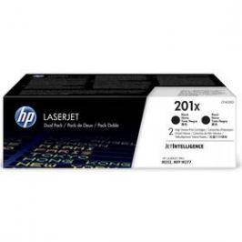 HP 201X, 2x 2800 stran, 2 pack (CF400XD) černý