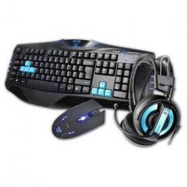 E-Blue Cobra s headsetem (EKM800BLCZ-IU) černá/modrá
