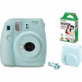 Fujifilm Instax mini 9 + pouzdro BIG BOX modrý