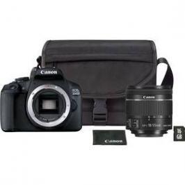 Canon EOS 2000D + 18-55 mm DC + VUK (2728C054) černý