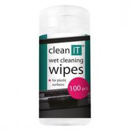 Clean IT mokré na plasty, 100ks (CL-142)