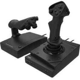 HORI Hotas Flight Stick pro PS4, PS3, PC (PS4-144E) černý