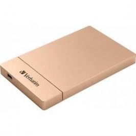 "Verbatim pro 2,5"" HDD SATA, USB-C / USB 3.1. Gen2 (53105) růžový"