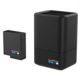 GoPro Dual Battery Charger + Battery (AADBD-001) černá