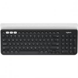 Logitech Wireless Keyboard K780, US (920-008042) šedá/bílá