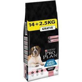 Purina Pro Plan LARGE ADULT Robust Sensitive Skin Losos 14 + 2,5 kg