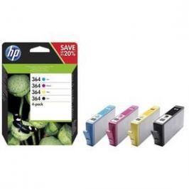 HP 364 - multipack(černá, purpurová, azurová, žlutá) (N9J73AE)