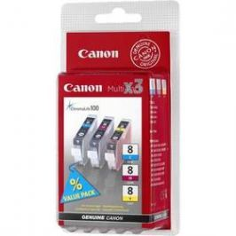 Canon CLI-8 CMY, 420 stran - originální (0621B026) červená/modrá/žlutá