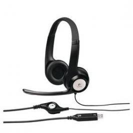 Logitech H390 USB (981-000406) černý