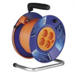 EMOS 4x zásuvka, 20m (1908142001) oranžový