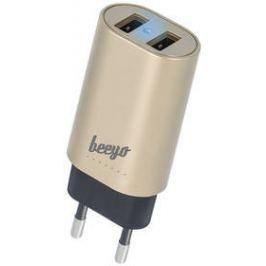 Beeyo 2x USB, 3,4A (ATCUSB34BEE2xGO) zlatý