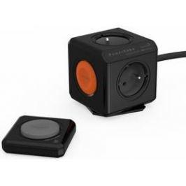Powercube Extended Remote Set, 4x zásuvka, 1,5m černá