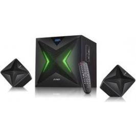 Fenda F&D F550X 2.1, bluetooth, rádio, USB, SD, dálkové ovládání (F550X) černé