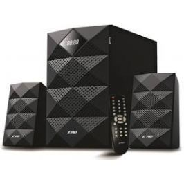 Fenda F&D A180X 2.1, bluetooth, rádio, USB, dálkové ovládání (A180X) černé