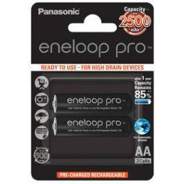 Panasonic Eneloop Pro AA, HR06, 2500mAh, Ni-MH, blistr 2ks (BK-3HCDE/2BE)