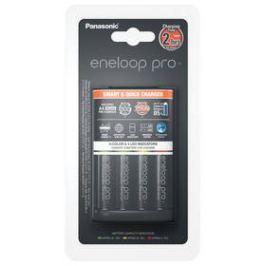 Panasonic Eneloop Smart-Quick Charger pro AA,AAA + 4x AA Panasonic Eneloop Pro 2500mAh (K-KJ55HCD40E) černá
