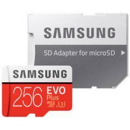 Samsung Micro SDXC EVO+ 256GB UHS-I U3 (100R/90W) + adapter (MB-MC256GA/EU)