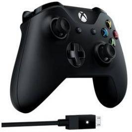 Microsoft Xbox One + kabel pro Windows (4N6-00002) černý