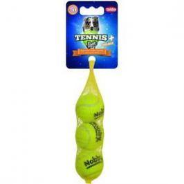 Nobby tenisový míček XS pískátko 4 cm 3 ks