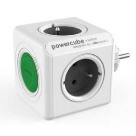 Powercube Original Switch, 4x zásuvka (8719186004161) šedý/bílý/zelený