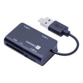 Connect IT USB 2.0 / 3x USB 2.0 (CI-646) černý