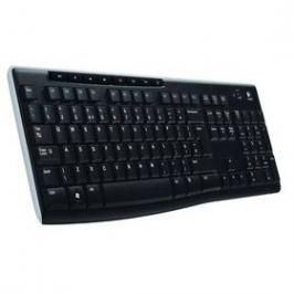 Logitech Wireless Keyboard K270 CZ/SK (920-003741) černá