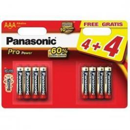 Panasonic Pro Power AAA, 4+4 ks (LR03PPG/8BW)
