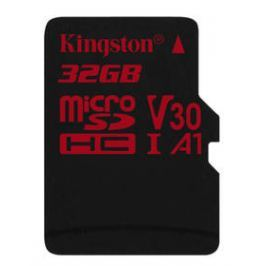 Kingston Canvas React microSDHC 32GB UHS-I U3 (100R/70W) (SDCR/32GBSP)