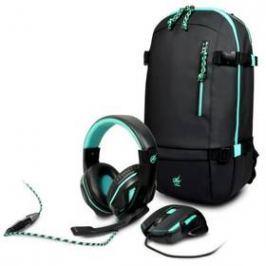 PORT DESIGNS AROKH 2 (batoh, myš, headset) (901751) černý/tyrkysový