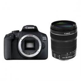 Canon EOS 2000D + 18-135 IS STM (2728C016AA) černý