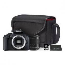 Canon EOS 2000D + 18-55 IS II + SB130 + 16GB karta (2728C013AA) černý