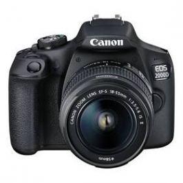 Canon EOS 2000D + 18-55 IS II + 50 f/1.8 STM (2728C022AA) černý