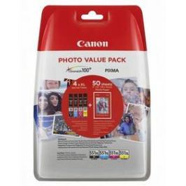Canon CLI-551 XL Photo Value Pack, CMYK (6443B006)