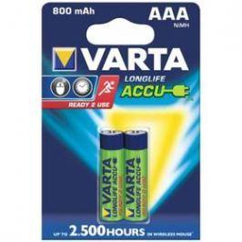 Varta Longlife Accu, AAA, 800 mAh, 2 ks