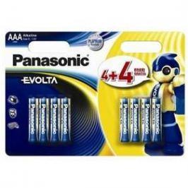 Panasonic Evolta AAA, LR03, blistr 6+2ks (226839)