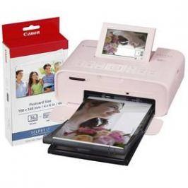 Canon Selphy CP1300 + papíry KP-36 růžová