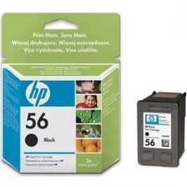 HP No. 56, 19ml, 520 stran - originální (C6656AE) černá