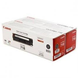 Canon CRG-718Bk, 2 x 3,4K stran - originální (2662B005) černý