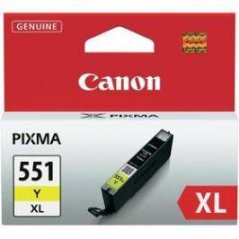 Canon CLI-551XL Y, 685 stran - originální (6446B001) žlutá